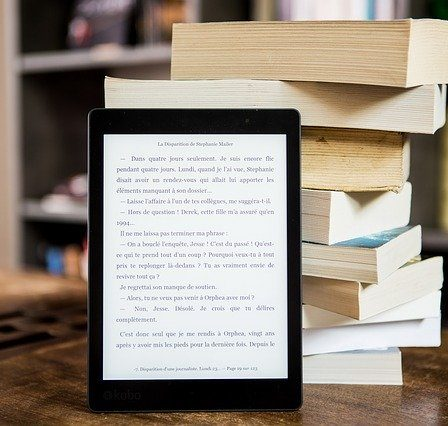 tablette numérique et livres
