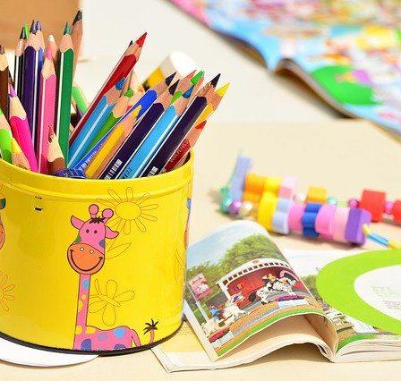 crayons à dessin