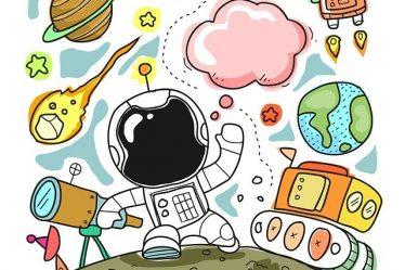 image science astronaute