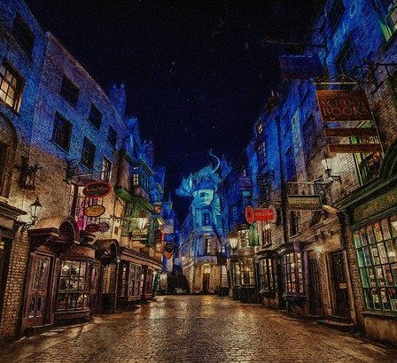 parc d'attractions harry potter