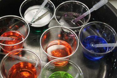 expérience chimie